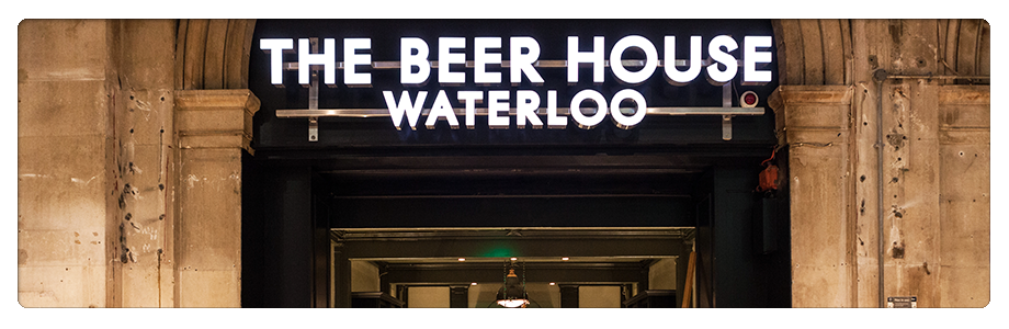 The Beer House Waterloo Front